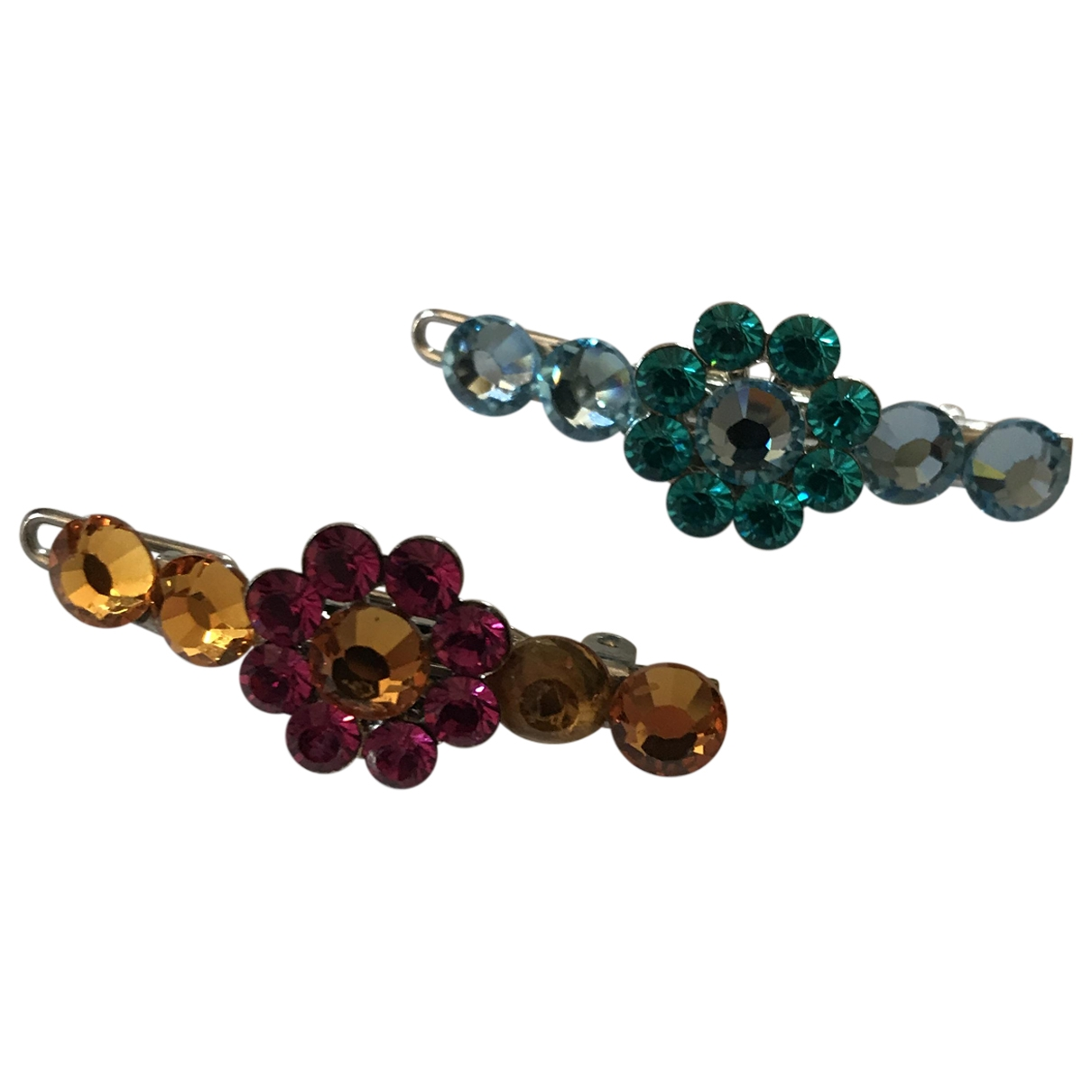Non Signé / Unsigned \N Multicolour Crystal Hair accessories for Women \N