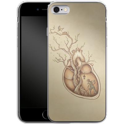 Apple iPhone 6s Silikon Handyhuelle - Tree Of Life von Enkel Dika
