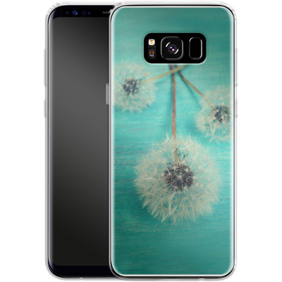 Samsung Galaxy S8 Silikon Handyhuelle - Three Wishes von Joy StClaire