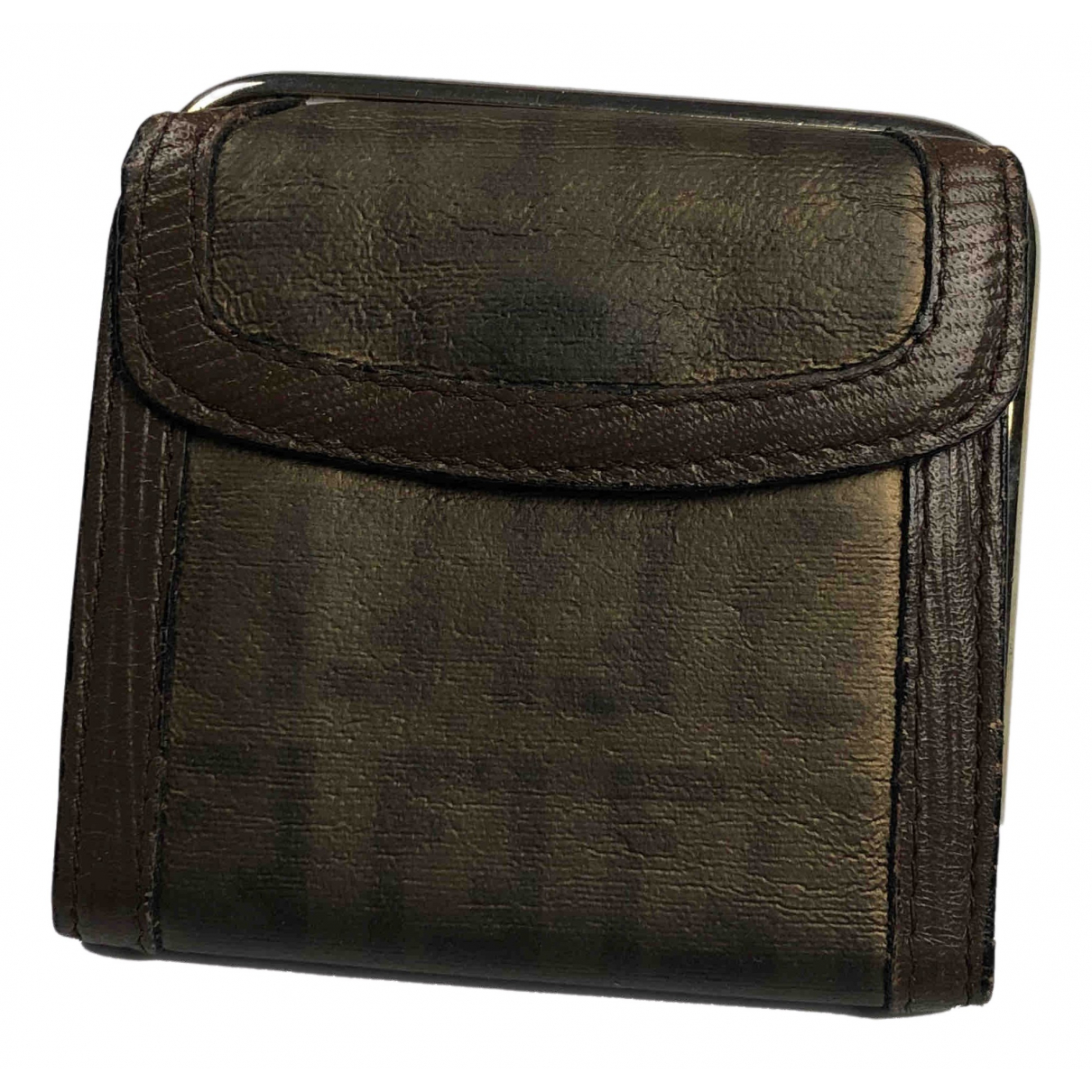 Fendi N Green Leather Purses, wallet & cases for Women N