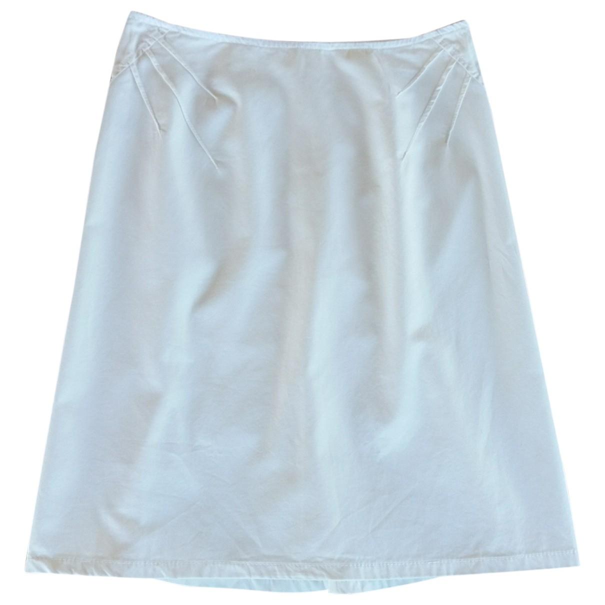 Miu Miu \N Ecru Cotton skirt for Women M International