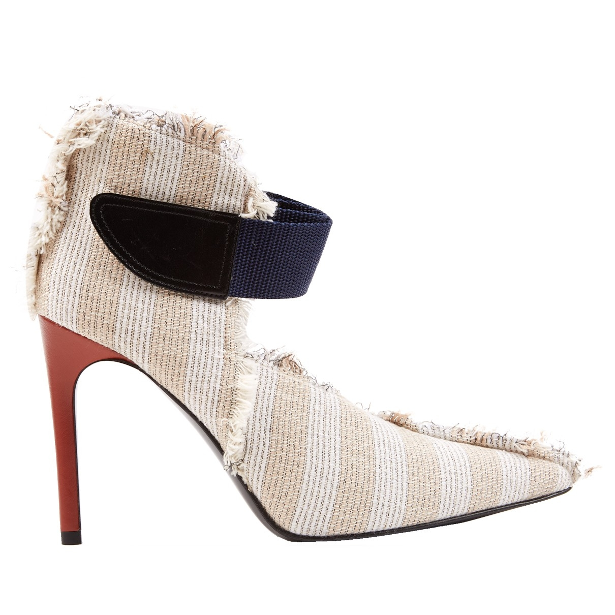 Acne Studios \N Beige Cloth Heels for Women 38 EU