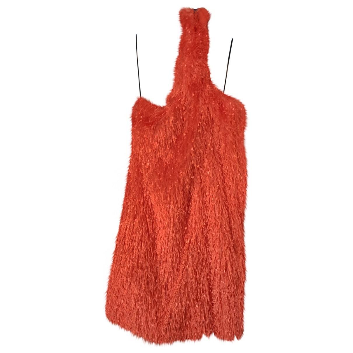 Zara \N Kleid in  Lila Synthetik