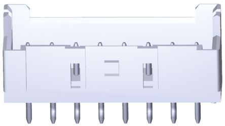 TE Connectivity , Economy Power 2.5, 4 Way, 1 Row, Straight PCB Header (10)