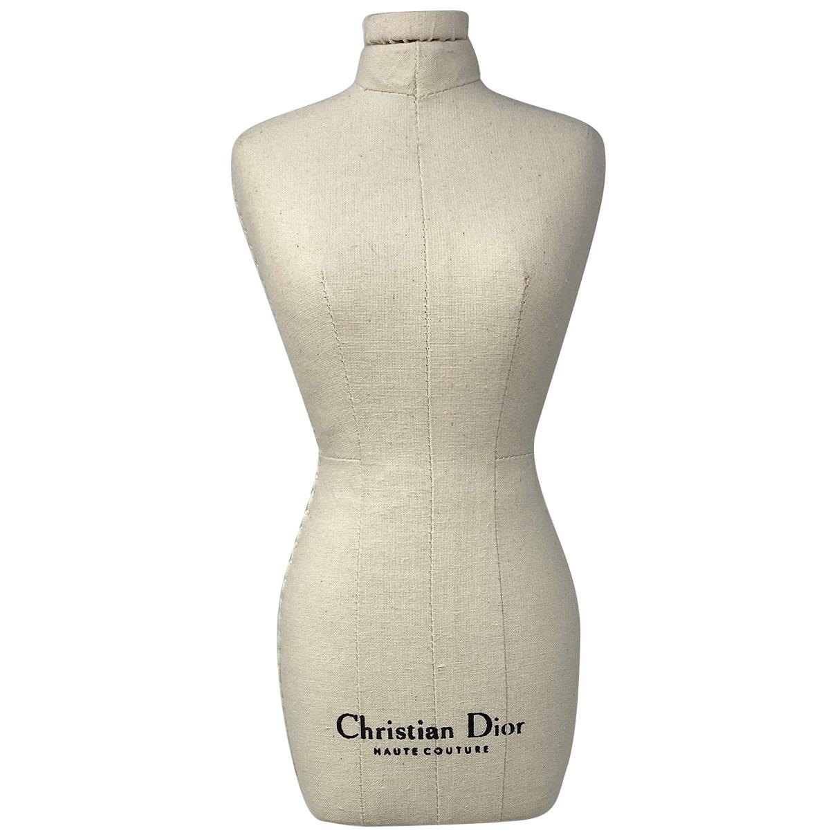 Christian Dior - Objets & Deco   pour lifestyle en toile - ecru