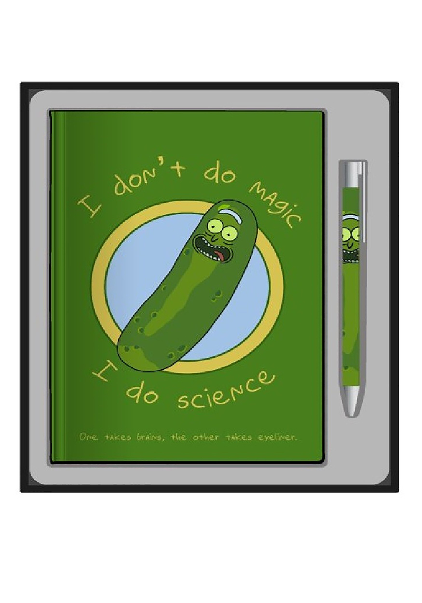 Journal and Pen Set Rick & Morty Pickle Rick