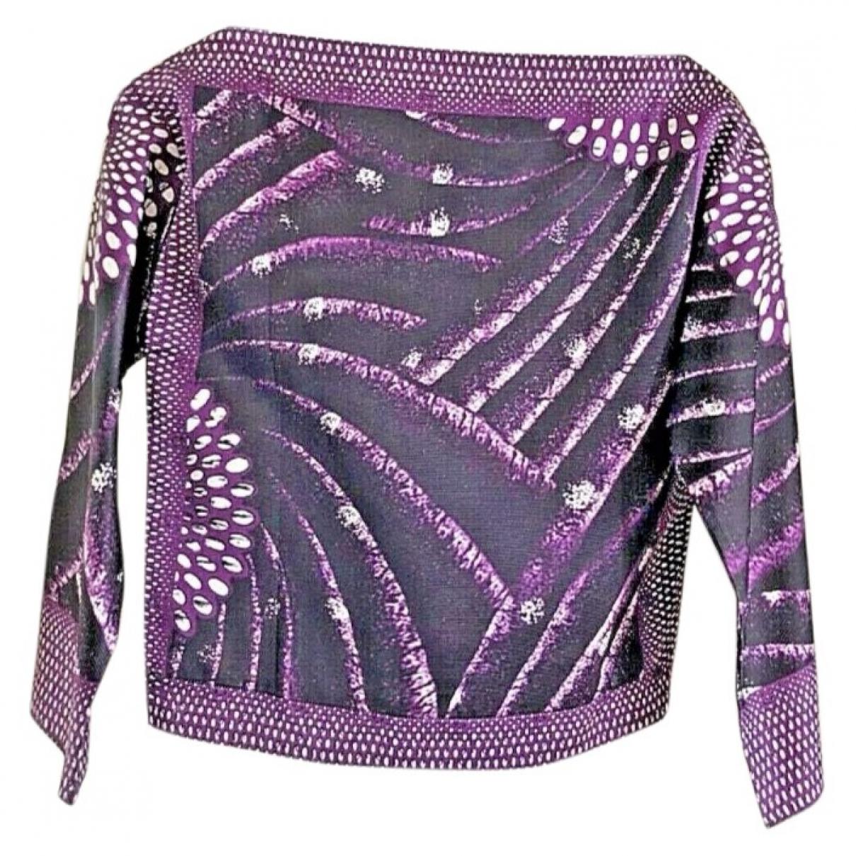 Miu Miu - Top   pour femme en soie - violet