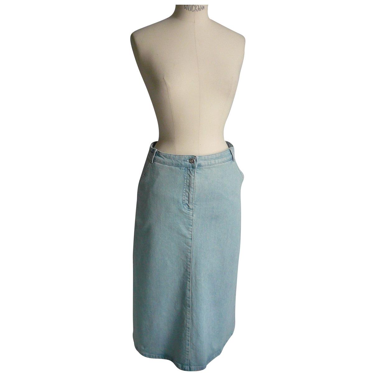 Vanessa Seward - Jupe   pour femme en coton - bleu