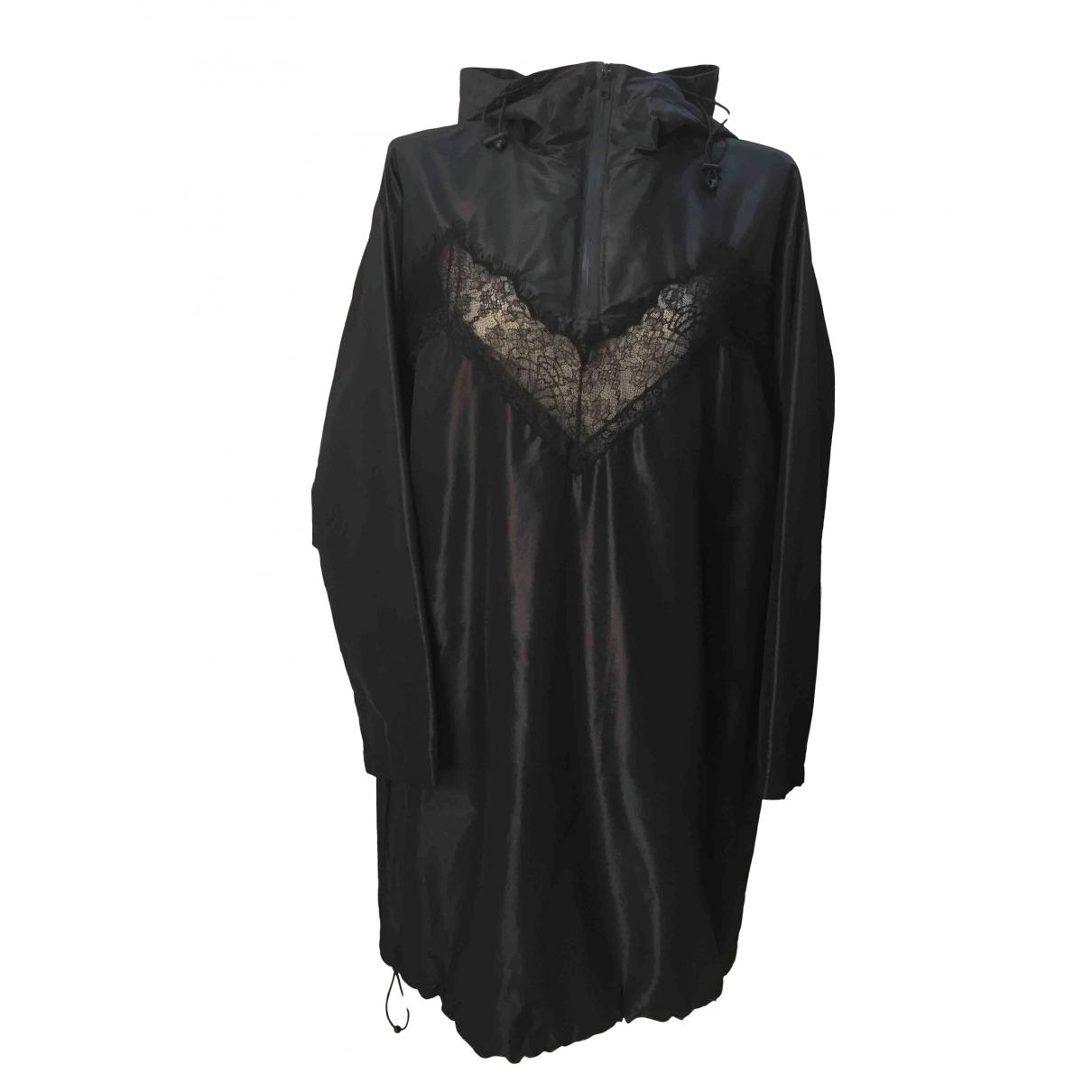 Maison Martin Margiela - Veste   pour femme en soie - noir