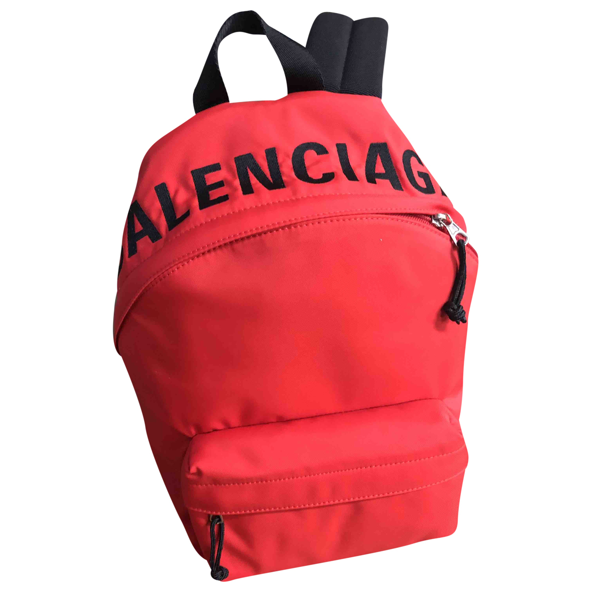 Balenciaga \N Red Cloth backpack for Women \N