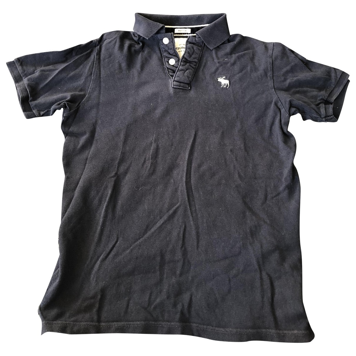 Abercrombie & Fitch \N Navy Cotton  top for Kids 20 years - XL UK