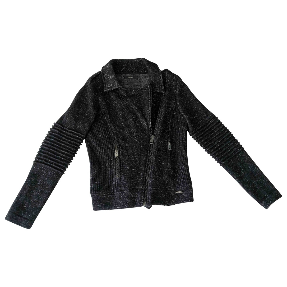 Diesel - Veste   pour femme en laine - anthracite