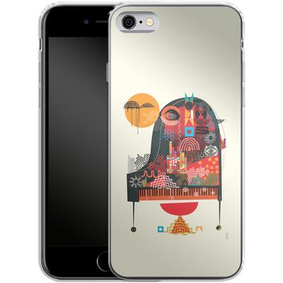 Apple iPhone 6s Silikon Handyhuelle - Sound of Joy von Victoria Topping