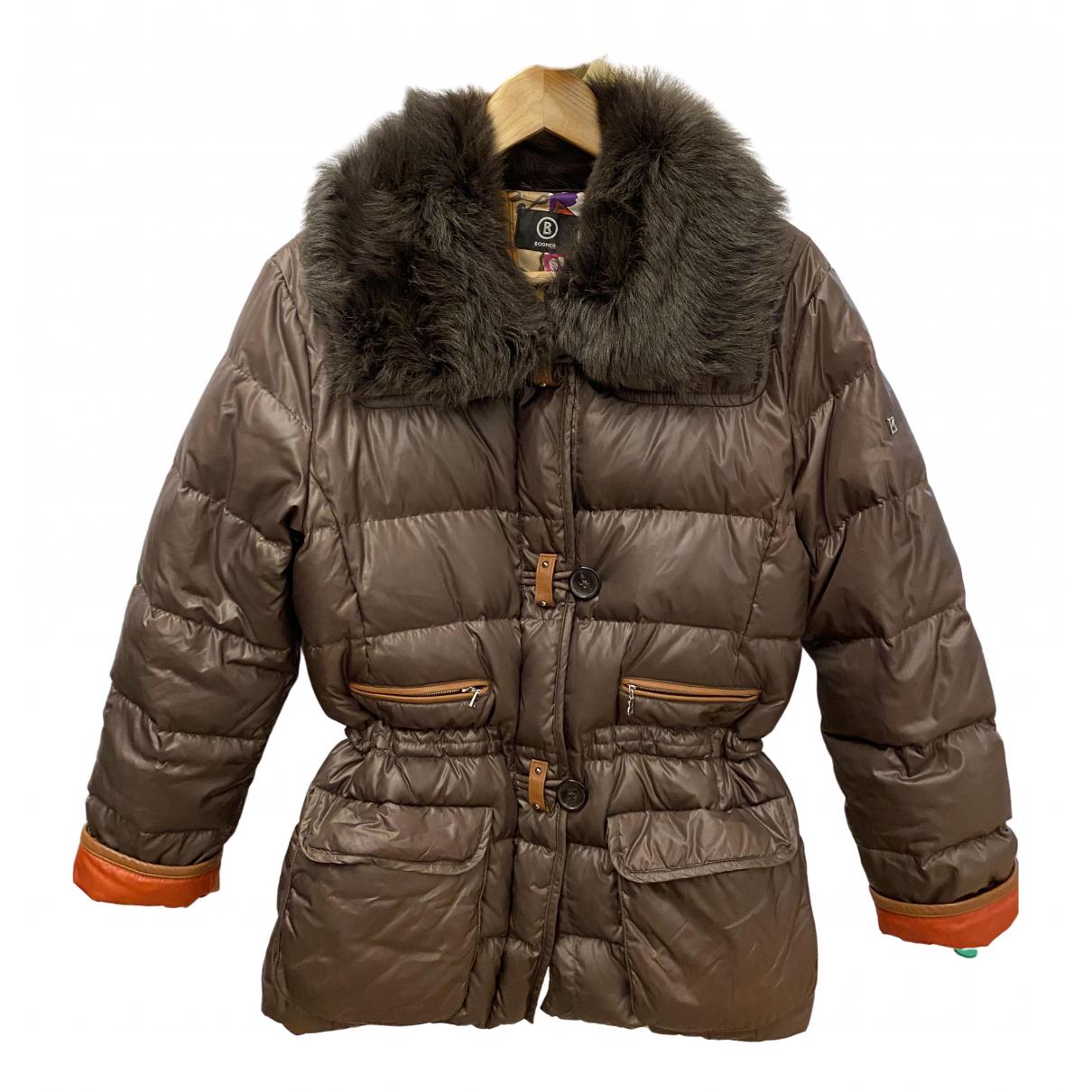 Bogner \N Brown coat for Women 10 US