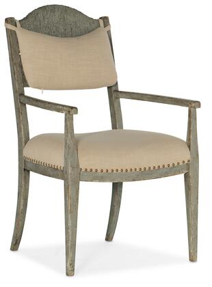 6025-75301-90 Alfresco Aperto Rush Arm Chair - Set of 2  in