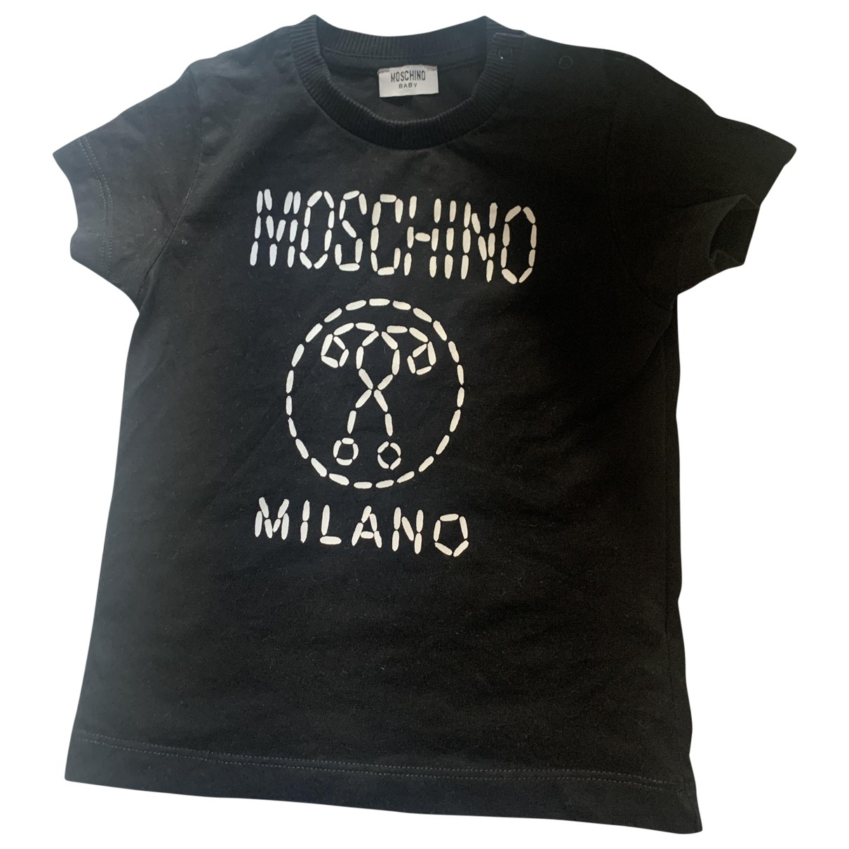 Moschino - Top   pour enfant en coton - noir