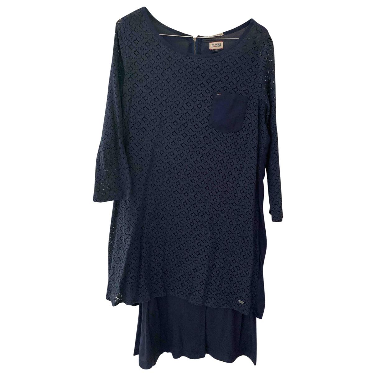 Hilfiger Collection N Blue Cotton dress for Women S International