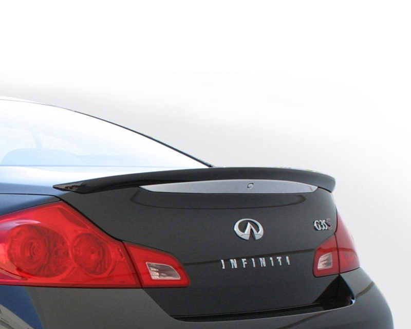 STILLEN Rear Wing For Vehicles without Backout Camera Infiniti G35 Sedan 07-08