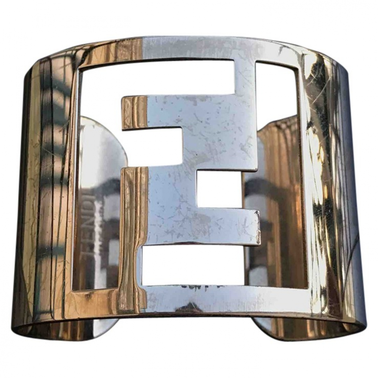 Fendi The Fendista Armband in  Gold Metall