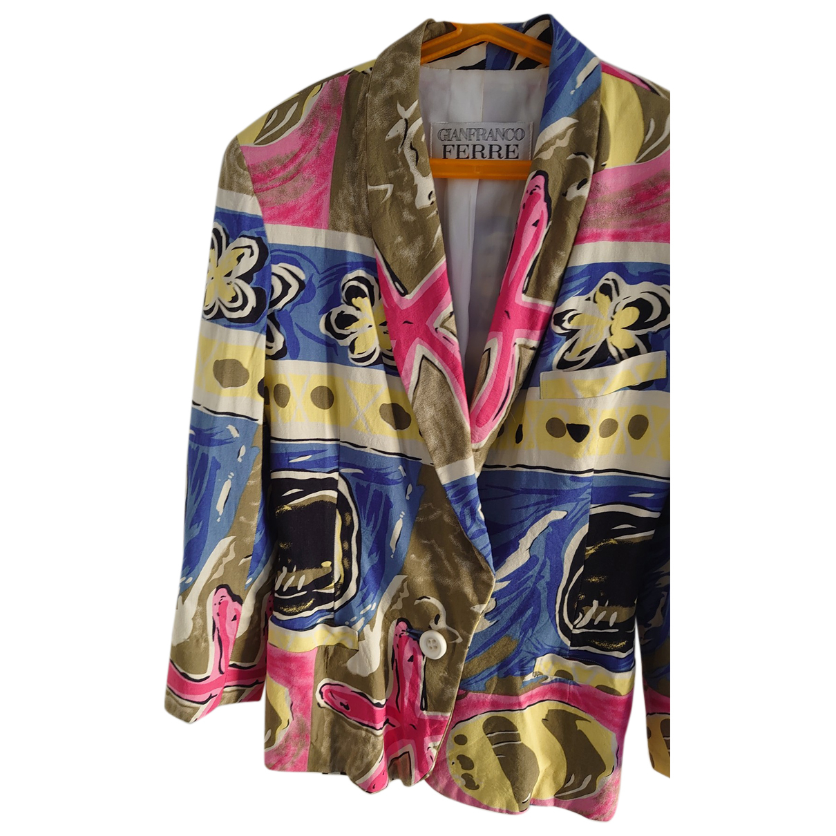 Gianfranco Ferre - Veste   pour femme en coton - multicolore