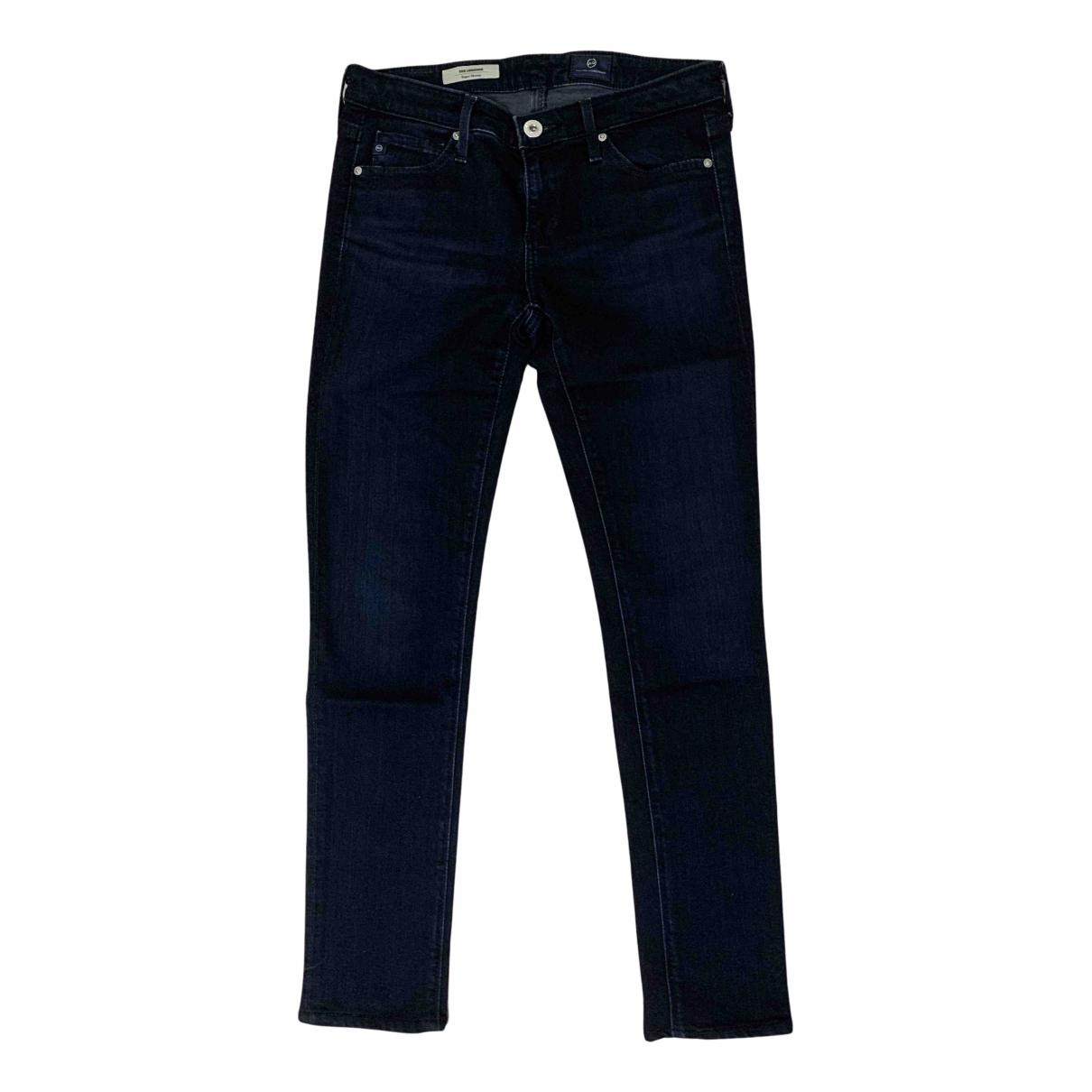 Ag Adriano Goldschmied N Blue Cotton - elasthane Jeans for Women 25 US