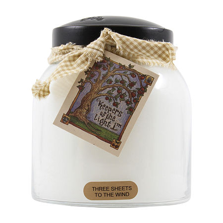 A Cheerful Giver 34oz Papa 3 Sheets To The Wind Jar Candle, One Size , White