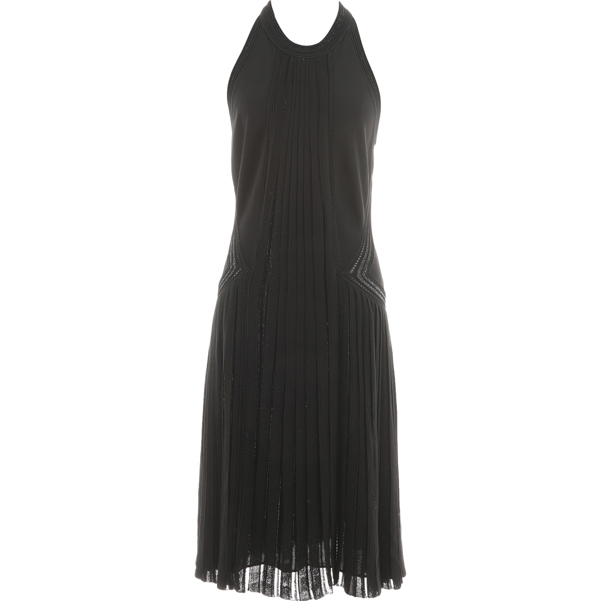 Roberto Cavalli \N Kleid in  Schwarz Viskose