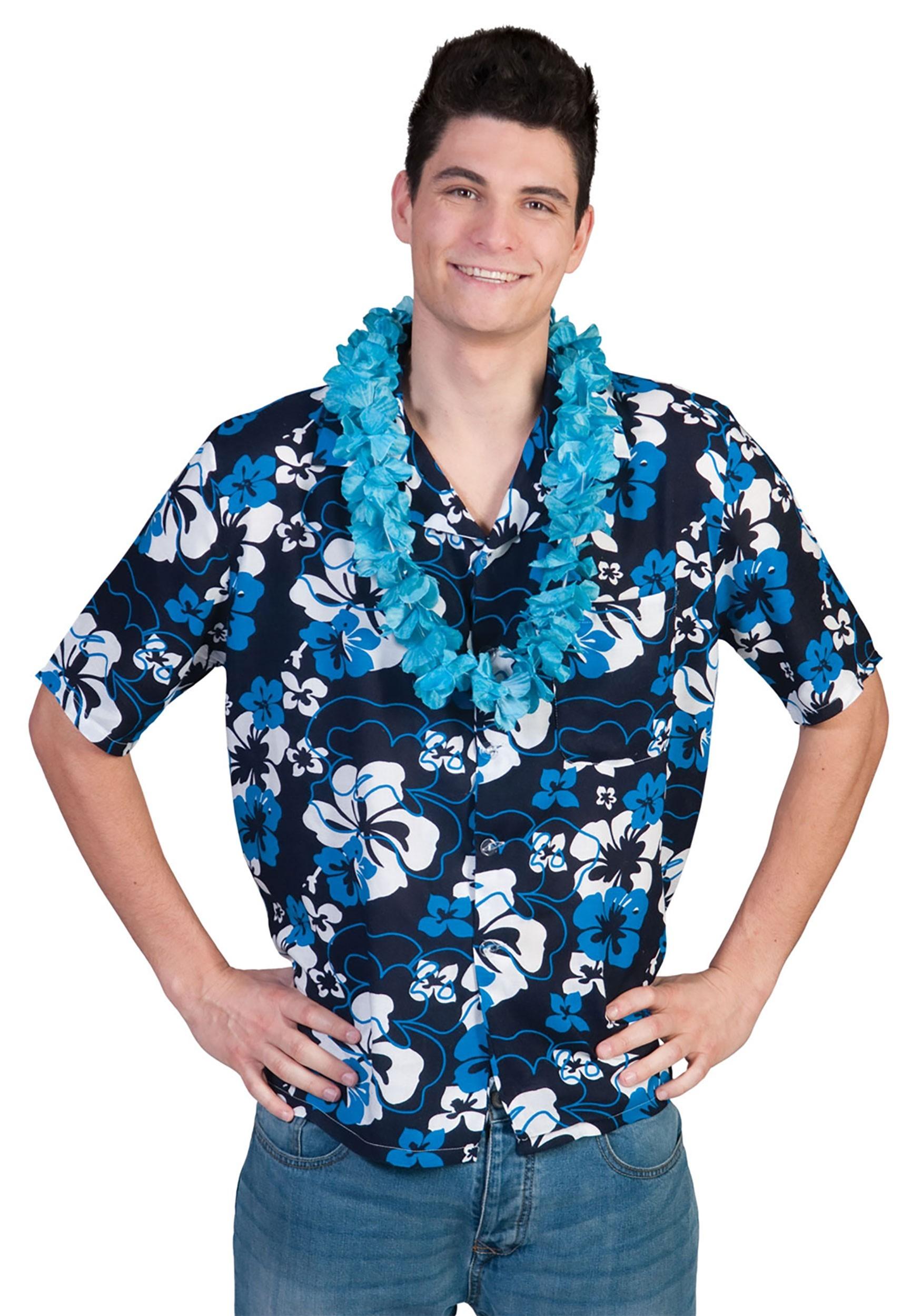 Men's Hibiscus Hawaiian Shirt