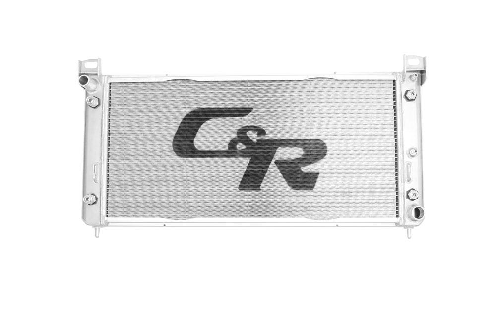 Chevrolet Suburban/Tahoe Radiator 07-13 Engine Oil Cooler & Transmission Oil Cooler. Requires minor modifaction to factory fan shroud.