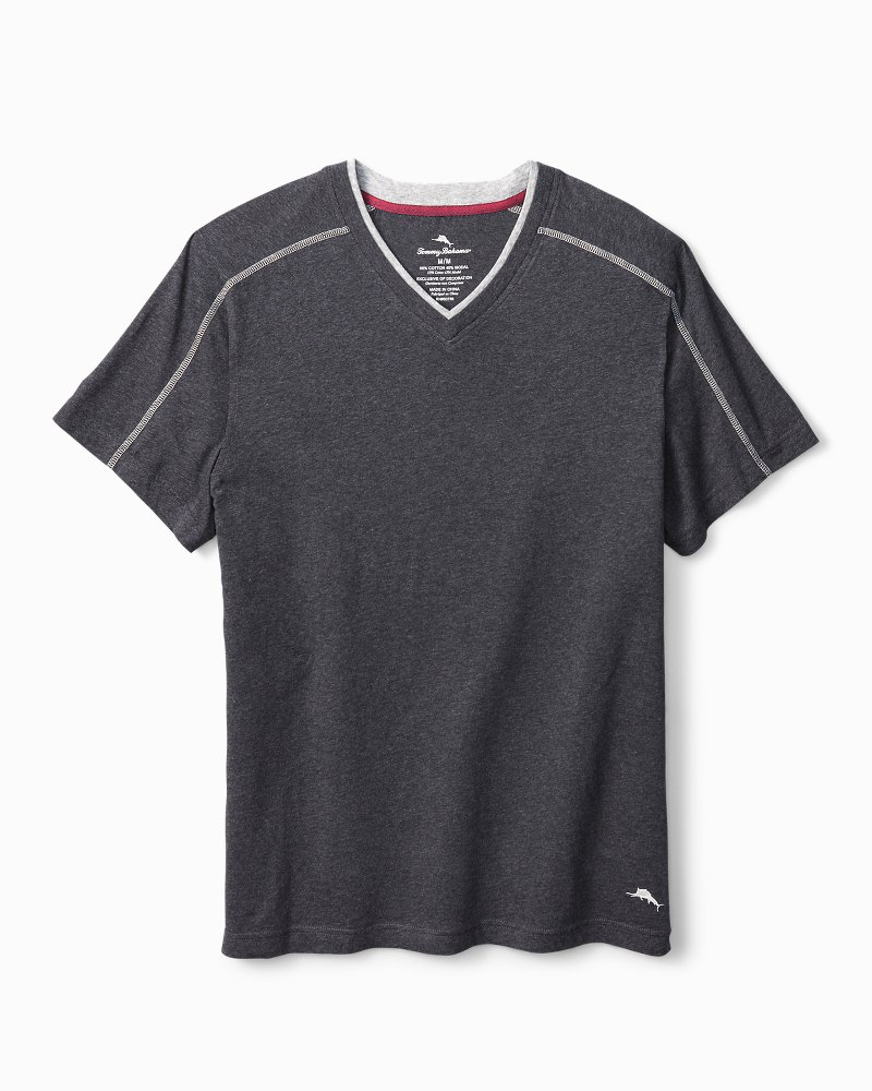 Heather Cotton-Modal Lounge T-Shirt