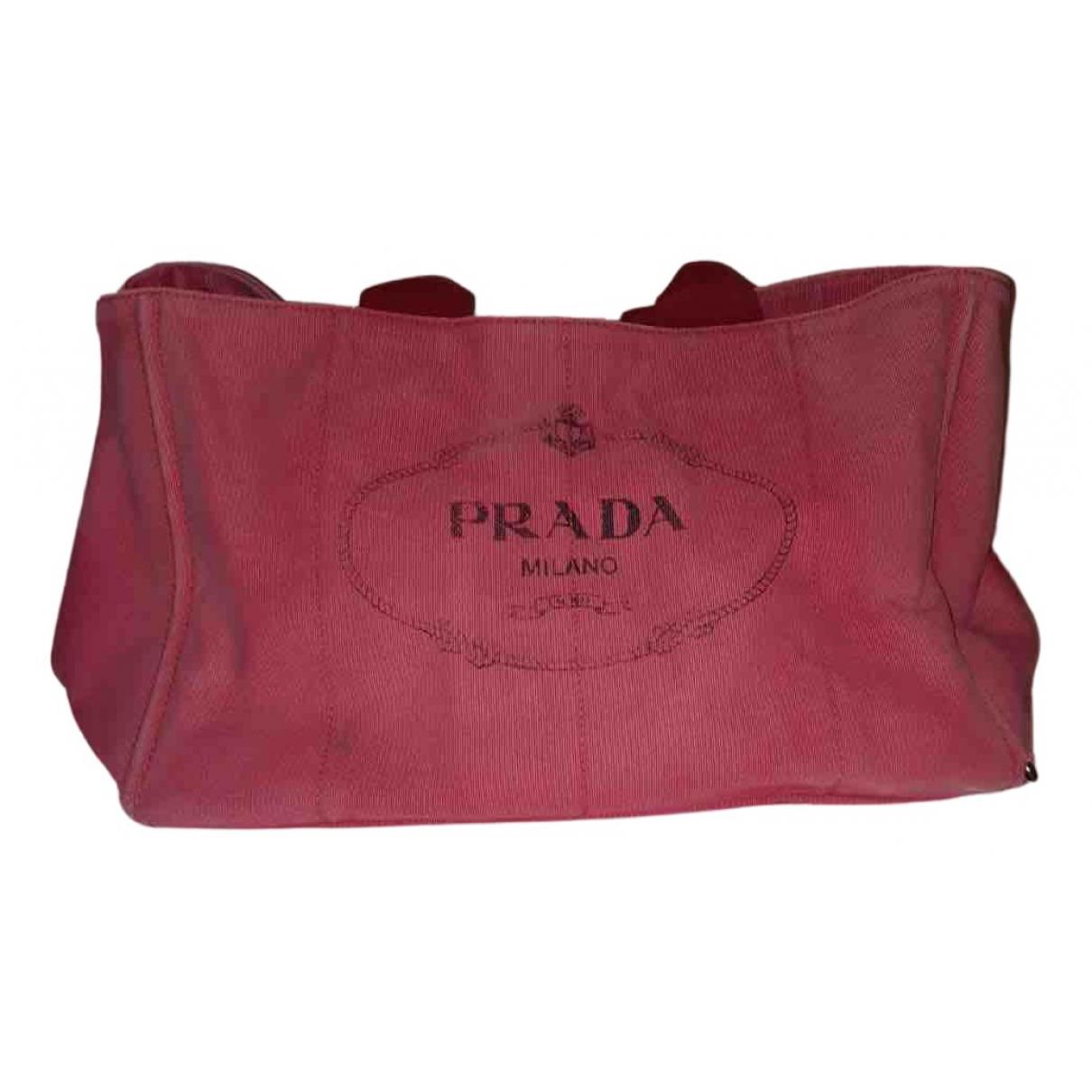 Prada N Red Cloth bag for Men N
