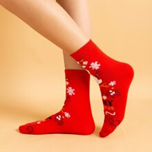 Christmas Pattern Socks