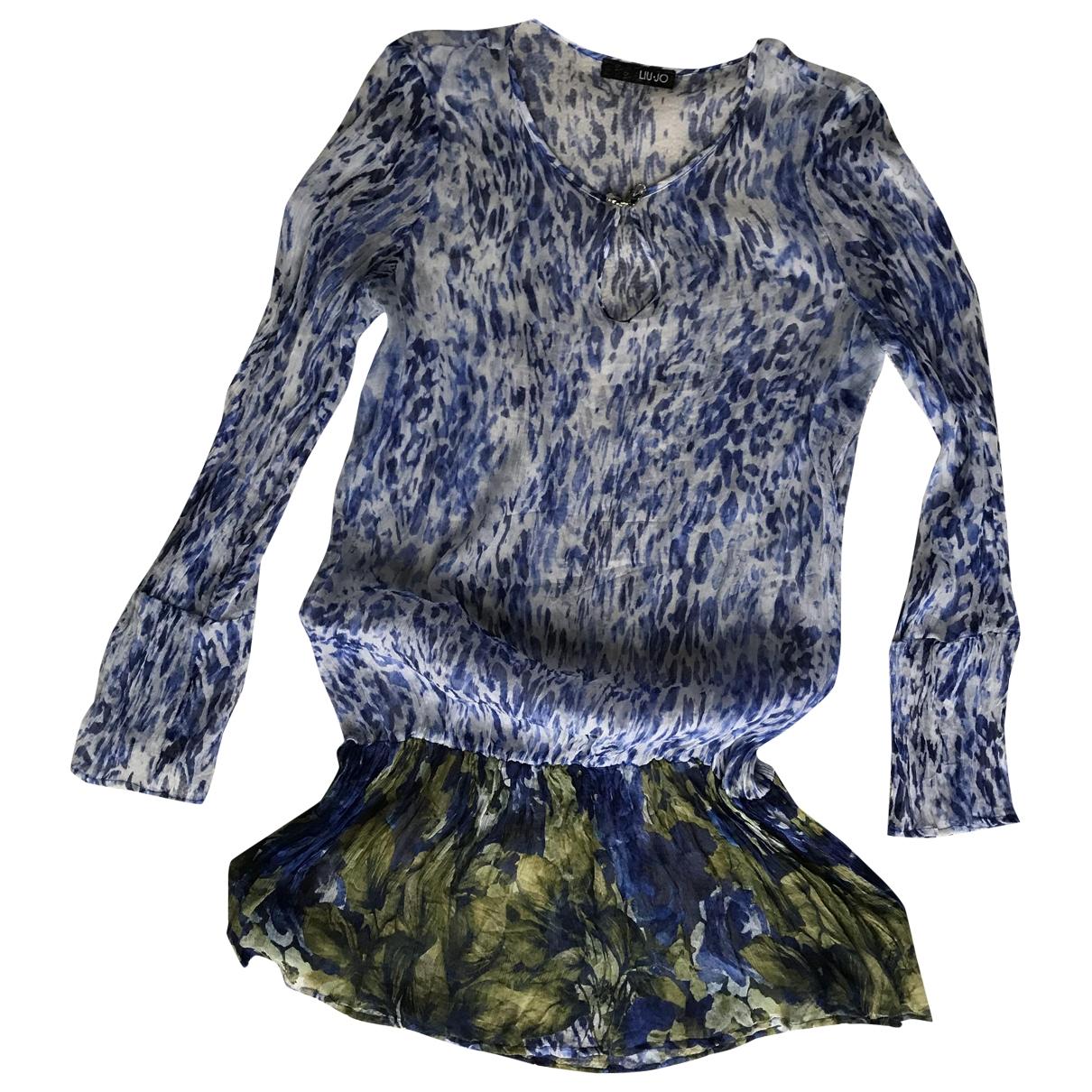 Liu.jo \N Blue Silk  top for Women M International