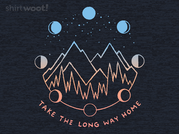 The Long Way Home T Shirt