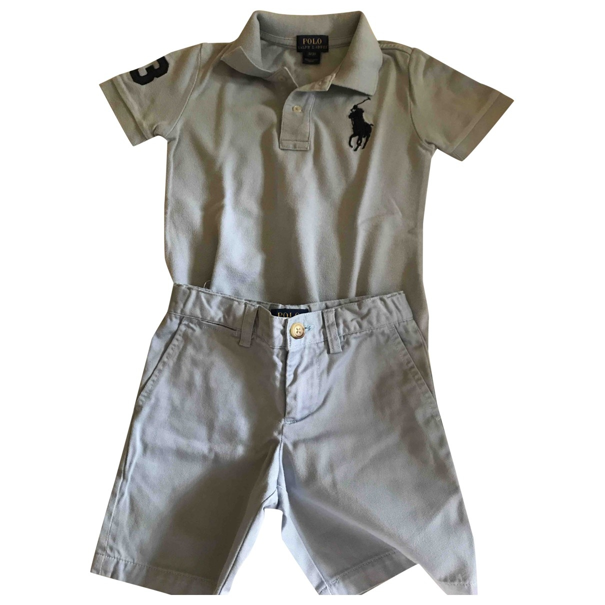 Polo Ralph Lauren \N Beige Cotton Outfits for Kids 3 years - up to 98cm FR