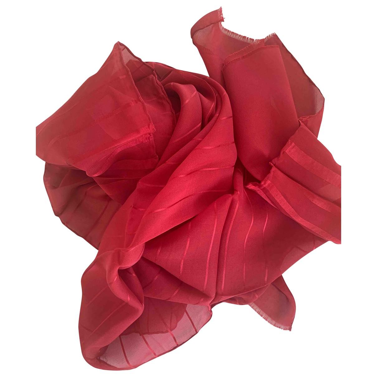 Emanuel Ungaro \N Red Silk scarf for Women \N