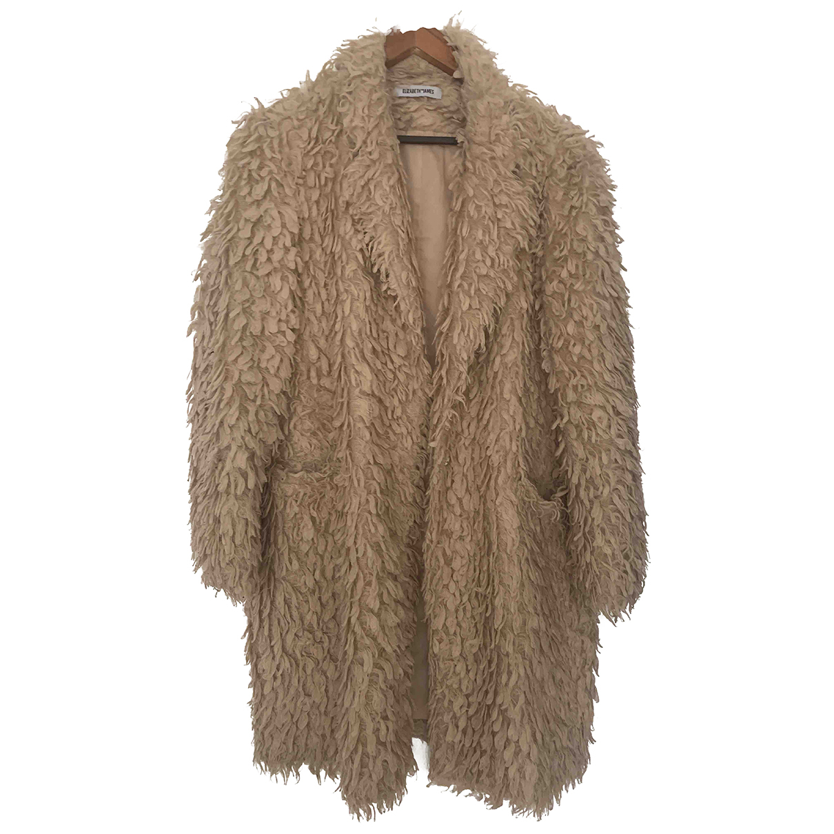 Elizabeth And James N Beige coat for Women 12 UK