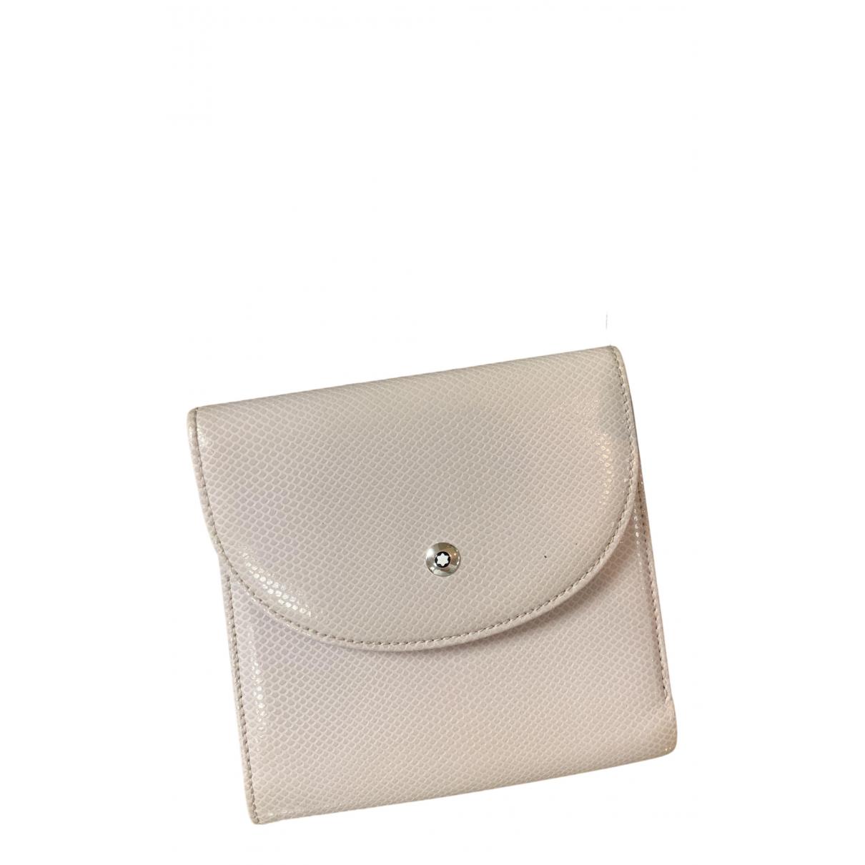 Montblanc - Petite maroquinerie   pour femme en autre - beige