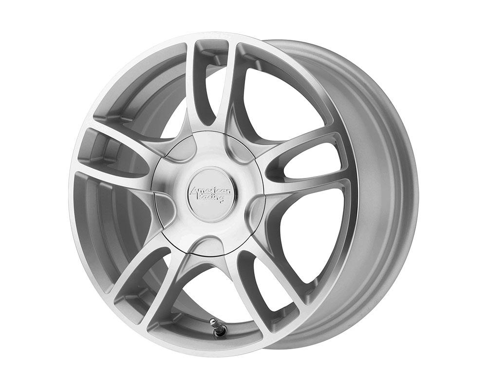 American Racing AR919 Estrella 2 Wheel 17x7.5 5x5x114.3/5x120 +45mm Silver Machined