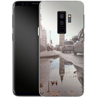 Samsung Galaxy S9 Plus Silikon Handyhuelle - Double Ben von Ronya Galka