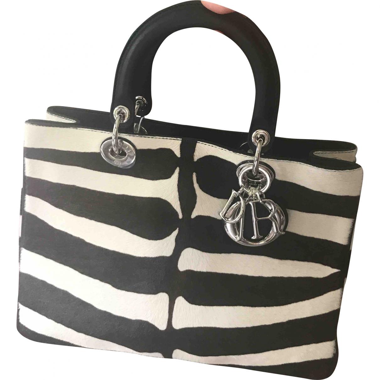 Dior Diorissimo Handtasche in Kalbsleder in Pony-Optik