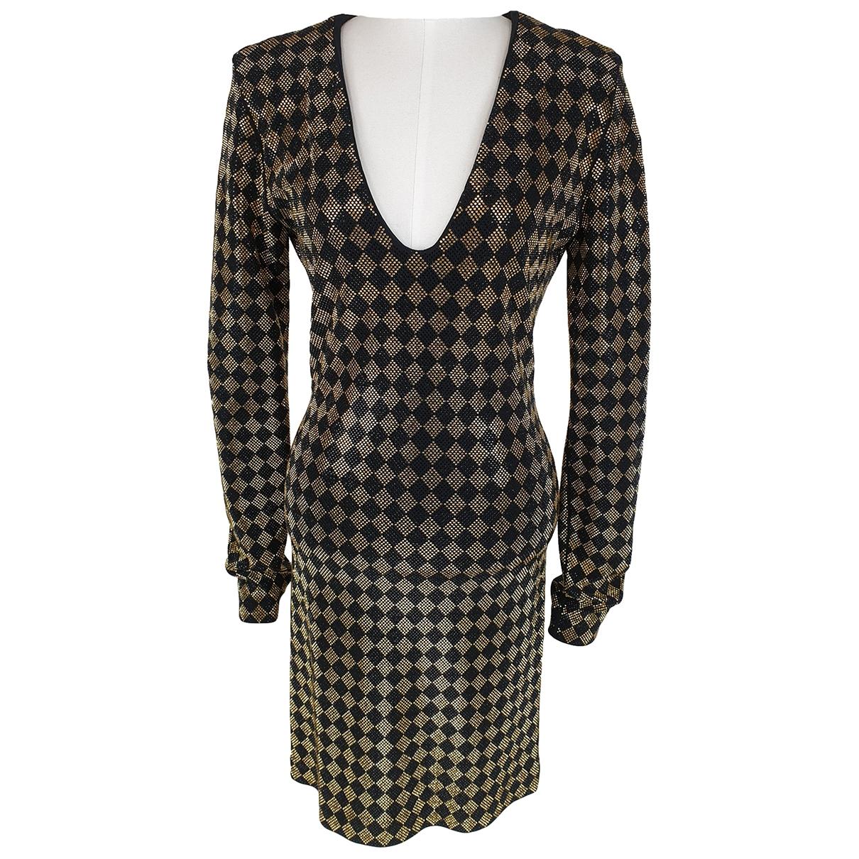 Balmain - Robe   pour femme - dore