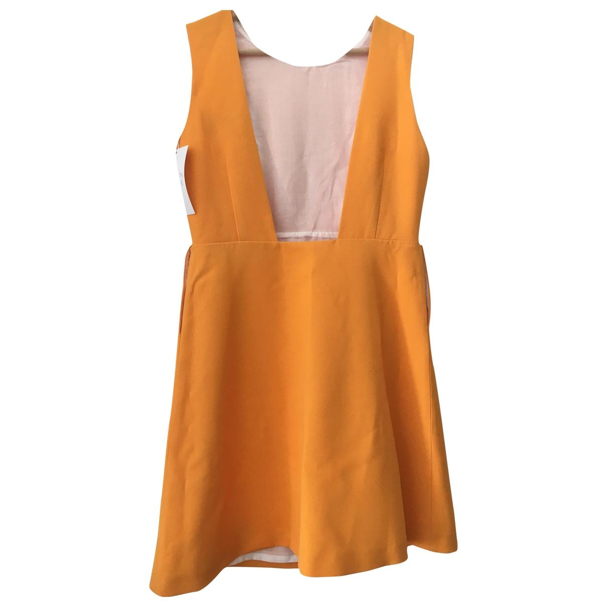 Maison Lemoine - Robe   pour femme en soie - orange