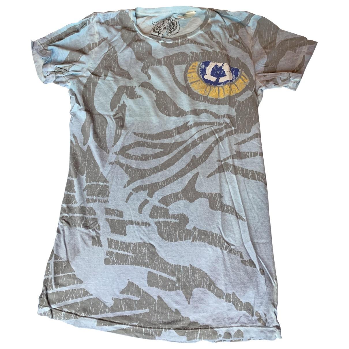 Diesel - Tee shirts   pour homme en coton - bleu