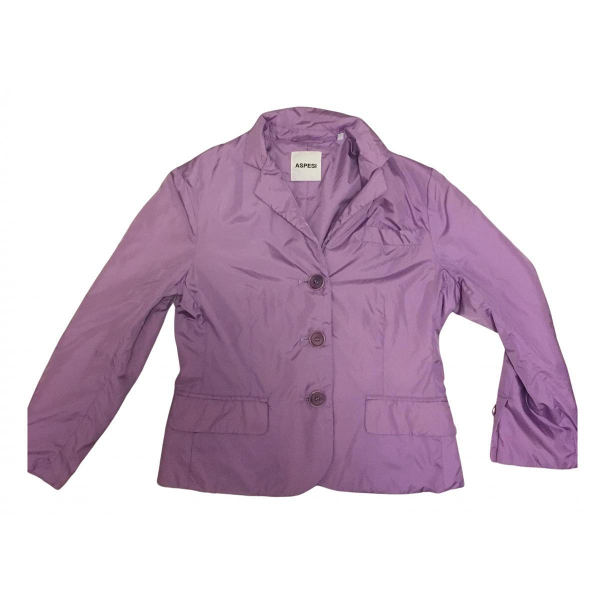 Aspesi - Veste   pour femme - violet