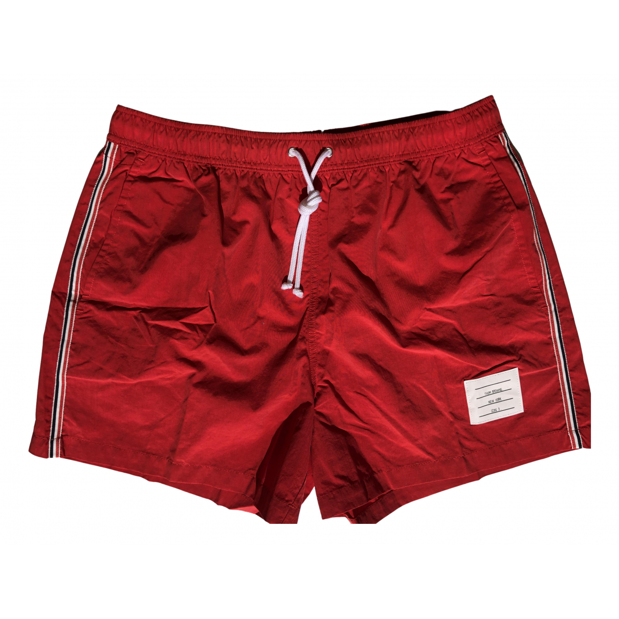 Thom Browne \N Badeanzug in  Rot Polyester