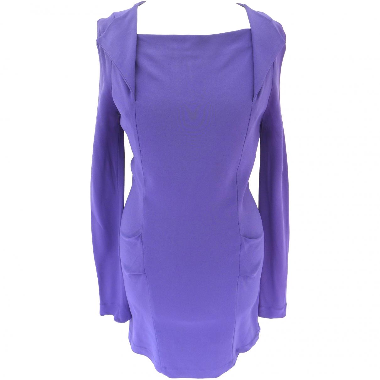 Rm By Roland Mouret \N Purple dress for Women XS International