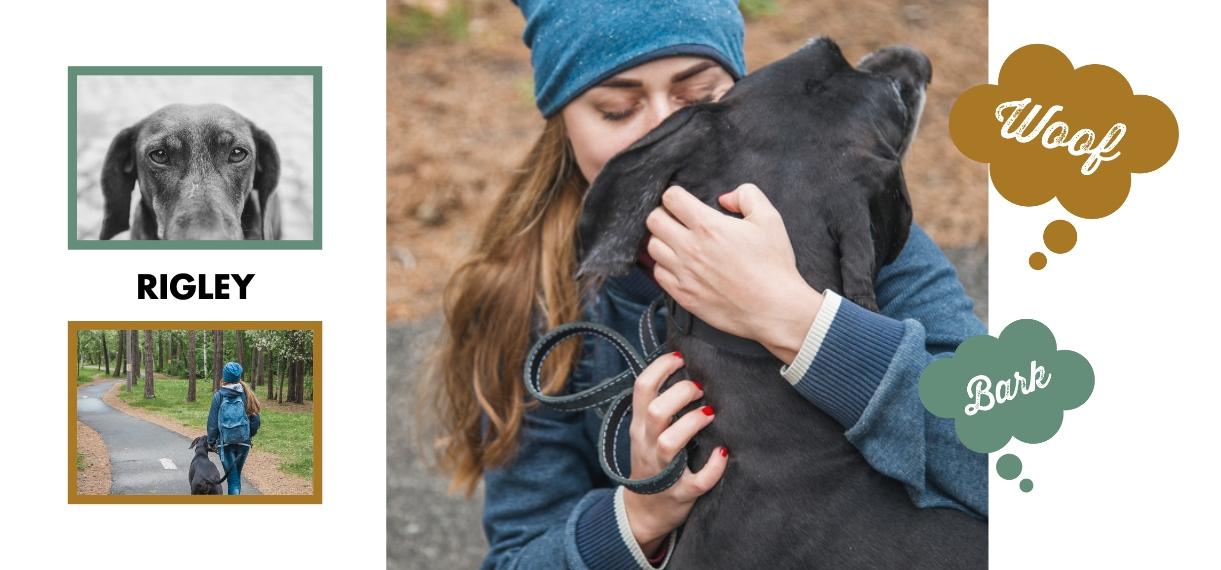 Pets 11 oz. Pink Accent Mug, Gift -Pampered Dog