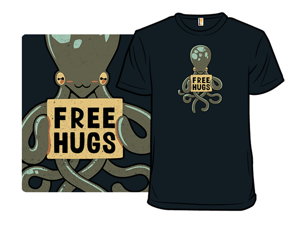 An Eight-arm Hug T Shirt