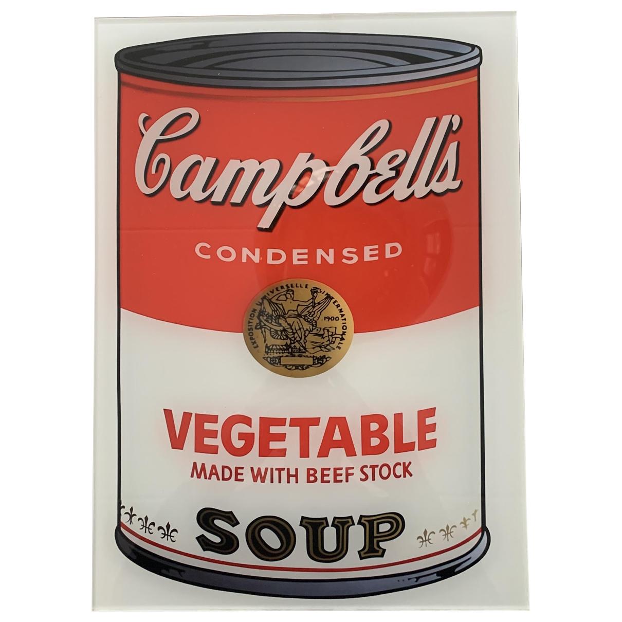 Andy Warhol \N Kunst in  Bunt Kunststoff